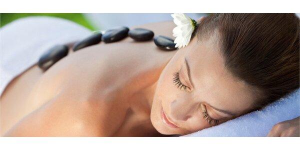 90minutová havajská masáž lávovými kameny