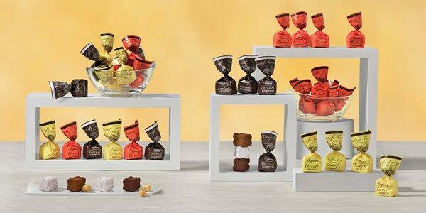 Čokoládové bonbóny Caffarel od Lindt & Sprüngli