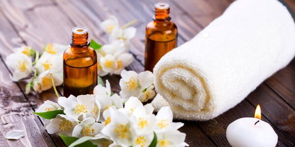 Aromaterapeutická masáž s oleji Nobilis Tilia