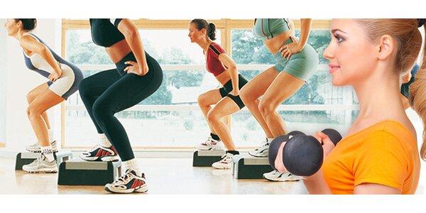 TŘI vstupy na zábavné sálové cvičení v Ladies' Gym