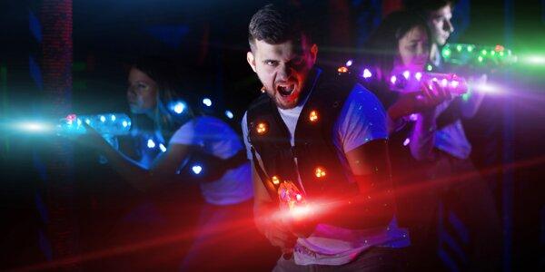 15 min. hry v moderní laser game aréně