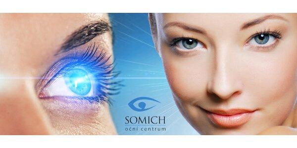 Laserová operace očí metodou Femto-LASIK