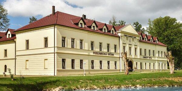 Zámecký wellness pobyt v krásném Chateau Kynšperk