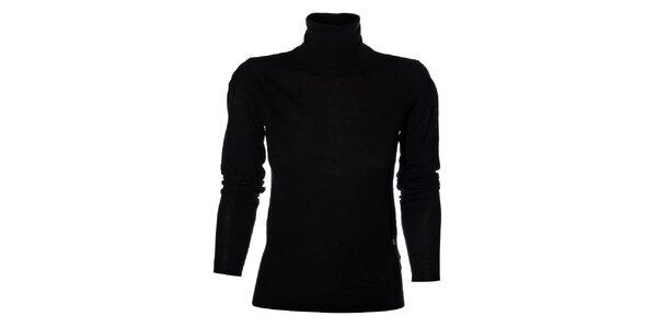 Dámský černý svetr Miss Sixty s rolákem