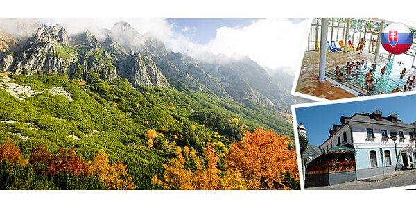 Pobyt pro JEDNOHO nebo DVA ve Vysokých Tatrách