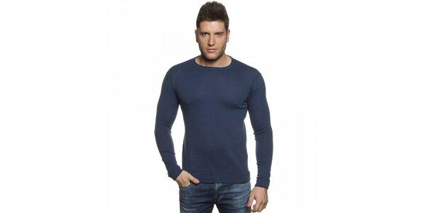Pánský tmavě modrý svetr Lois