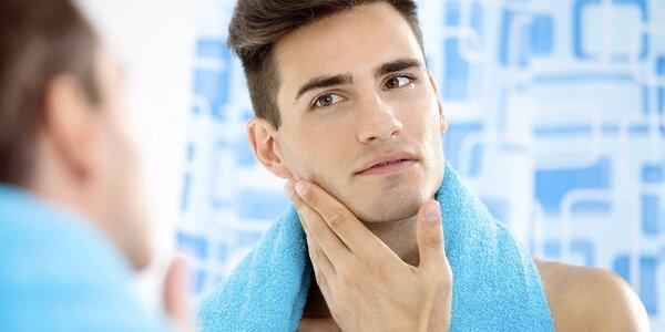 Kompletní kosmetické ošetření na míru mužské pleti