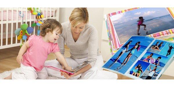 Nádherná fotokniha o 20 stranách nebo fotokalendář