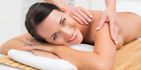 80 min. božského relaxu: masáž i maska na obličej
