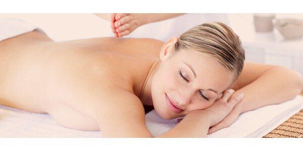 Relaxační 90minutová masáž a zábal královny ze Sáby