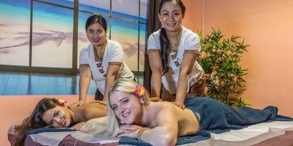 90 minut relaxace pro pár: masáž, lázeň a sekt
