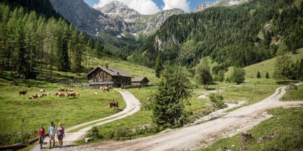 Aktivní podzim v apartmánech v rakouských Alpách