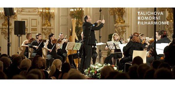Předplatné na 10 koncertů Talichovy komorní filharmonie