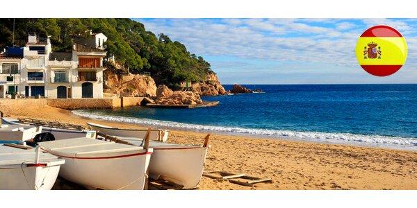 8denní dovolená s polopenzí na španělském Costa Brava