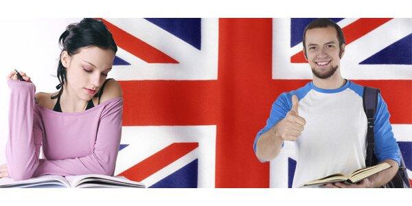 Lekce angličtiny v malé skupině od února do června
