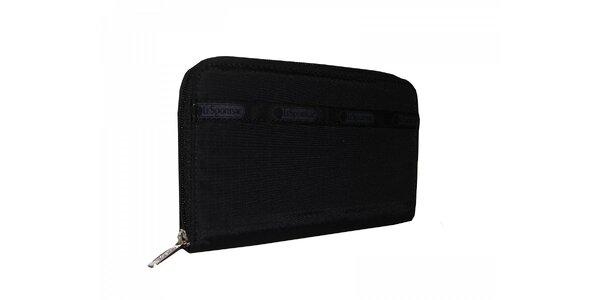 Dámská černá peněženka LeSportsac