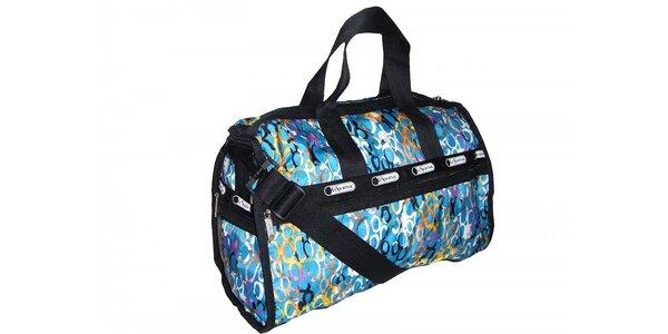 Cestovní taška LeSportsac s modrými odstíny