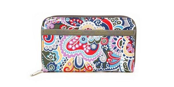 Dámská barevná peněženka LeSportsac