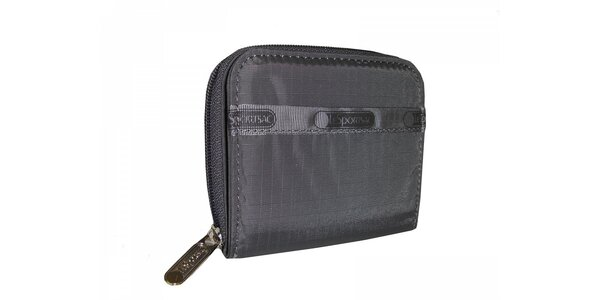 Šedá peněženka LeSportsac