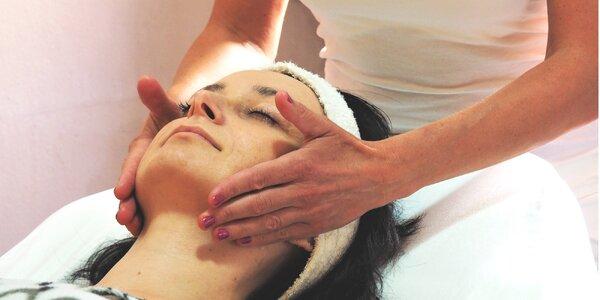 Kosmetické ošetření obličeje i krku a dekoltu