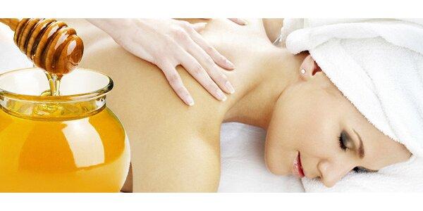 290 Kč za blahodárnou medovou masáž!