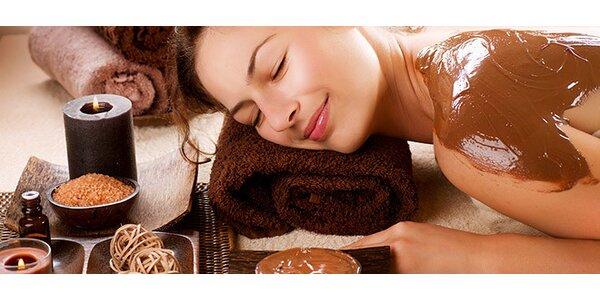 Čokoládová masáž zad a rukou pro dokonale sladký odpočinek