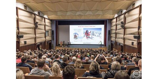 Vstupenky na přednášky nejúspěšnějších horolezců