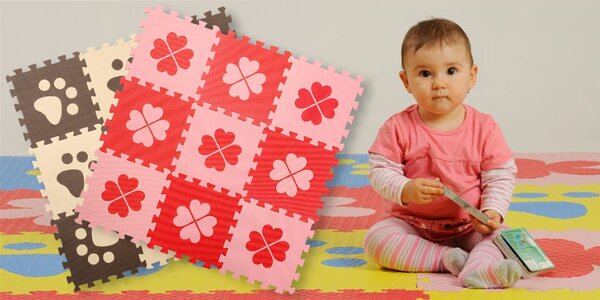 Dětské pěnové puzzle podložky na hraní i cvičení