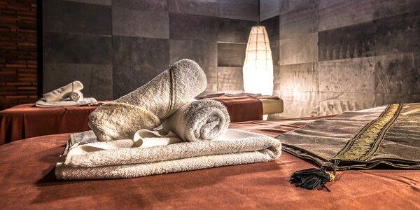 Thajská aroma masáž, lávové kameny i masáž zad