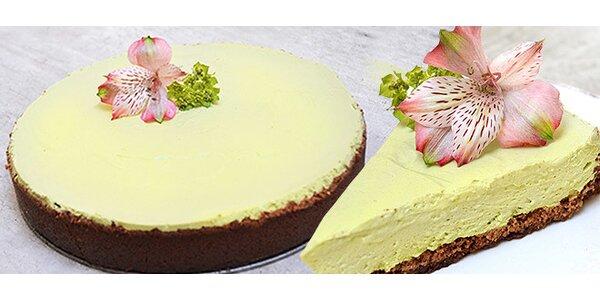 Vynikající cheesecake s čajem Matcha od Ivety Fabešové