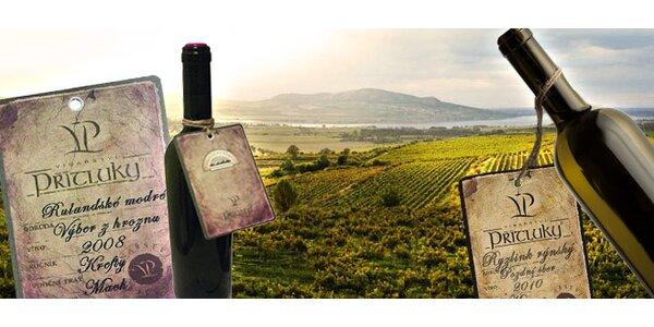 TŘI přívlastková vína z Vinařství Přítluky