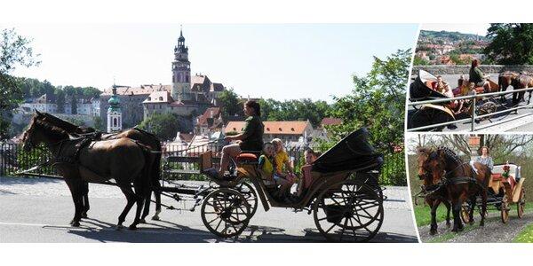 Romantická projížďka v dobovém kočáře
