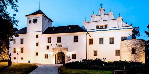 Blanenský zámek, muzeum i výstava o železnici