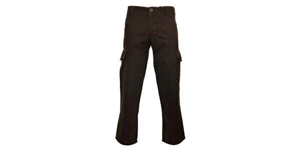 Pánské khaki kalhoty Bushman s kapsami