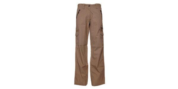 Pánské světle béžové plátěné kalhoty Bushman