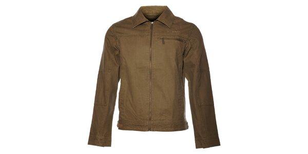 Pánská khaki bunda Bushman
