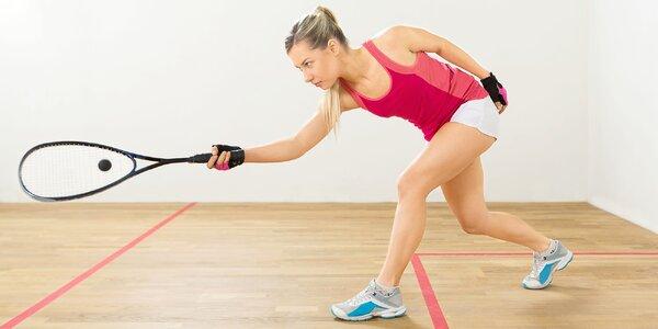 Hodinový pronájem kurtu na squash či stolního tenisu