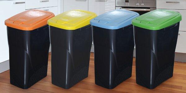 Koše na tříděný odpad ve třech objemech