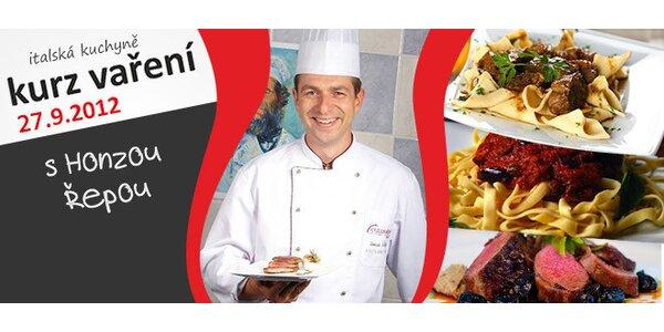 Kurz italské gastronomie včetně ochutnávky