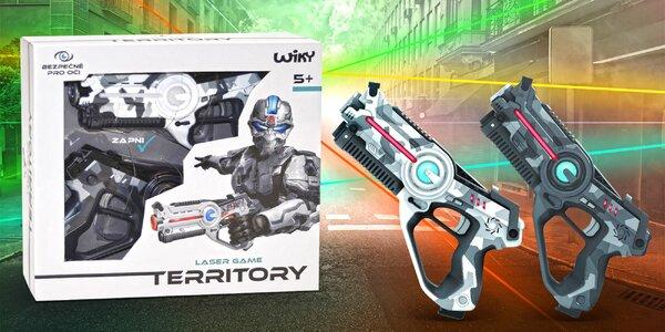 Territory Laser Game Double: set 2 pistolí