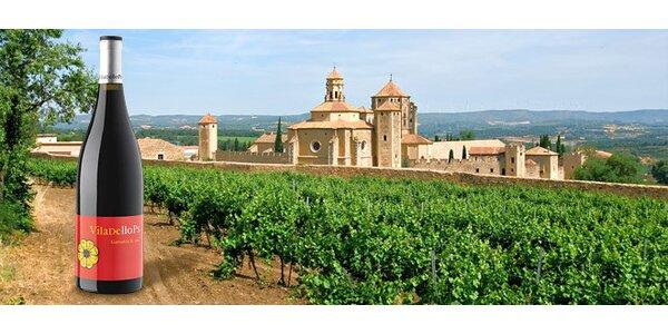 Dobré španělské víno Viladellops Garnacha 2010