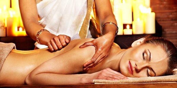 Ájurvédská harmonizační a detoxikační masáž celého těla