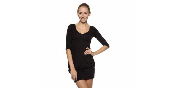 Dámské černé šaty Guess s kamínky