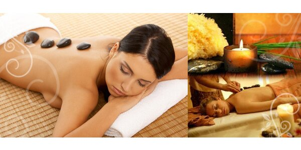 Pouze 295 Kč za 70 minutovou masáž horkými lávovými kameny se SLEVOU 50% !