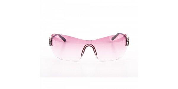 Dámské růžové sluneční brýle Guess