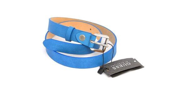 Dámský zářivě modrý pásek Guess