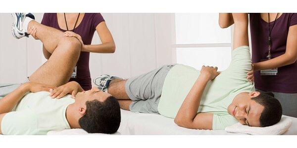 60 minut individuální fyzioterapie a kineziologické vyšetření