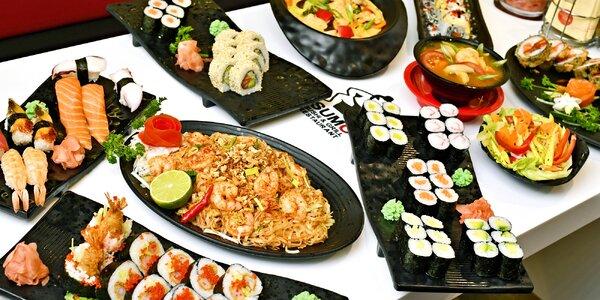 Running sushi v OC Šestka: až 2hodinová hostina