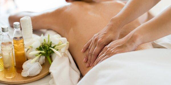 Uvolňující masáž dle výběru: 60 i 90 minut
