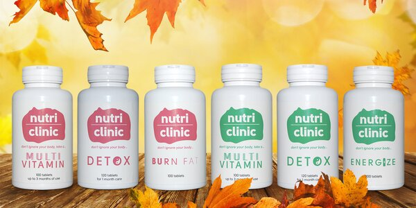 Nutri clinic: detox, energie i spalovač tuku
